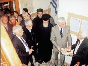 Από την ανακήρυξη της ΕΔΙΑΠ σε Μουσείο. Την κορδέλα στην τελετή των εγκαινίων έκοψε ο δήμαρχος Τρίπολης, κ. Ιωάννης Σμυρνιώτης.