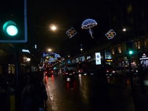 Λονδίνο· Χριστουγεννιάτικη ατμόσφαιρα στην Oxford street (11/11/2012)
